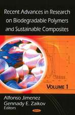 Recent Advances in Research on Biodegradable Polymers and Sustainable Composites