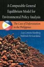 Computable General Equilibrium Model for Environmental Policy Analysis