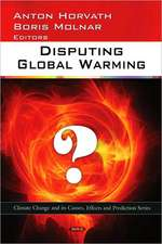 Disputing Global Warming