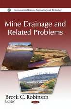 Mine Drainage and Related Problems