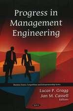 Progress in Management Engineering