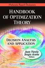 Handbook of Optimization Theory