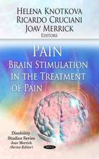 Pain / Brain Stimulation in the Treatment of Pain
