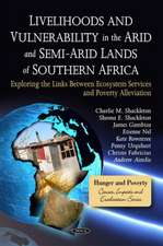Livelihoods and Vulnerability in the Arid and Semi-Arid Lands of Southern Africa