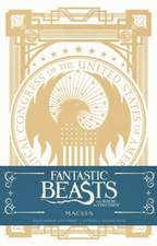 Fantastic Beasts and Where to Find Them  Deluxe Hardcover Ruled Journal Macusa