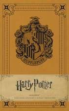 Harry Potter: Hufflepuff Hardcover Ruled Journal
