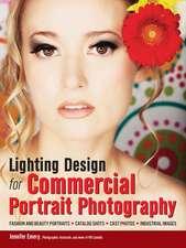 Lighting Design For Commercial Portrait Photography