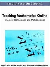 Teaching Mathematics Online