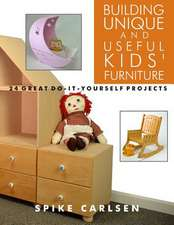 Building Unique and Useful Kids' Furniture