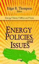 Energy Policies & Issues
