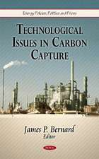 Technological Issues in Carbon Capture