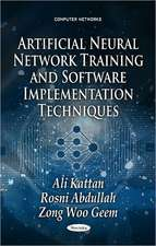 Artificial Neural Network Training & Software Implementation Techniques