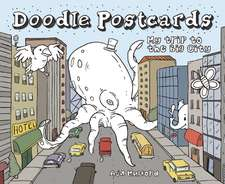 My Trip to the Big City:  Doodle Postcards