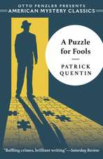 A Puzzle for Fools – A Peter Duluth Mystery