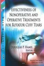 Effectiveness of Nonoperative & Operative Treatments for Rotator Cuff Tears
