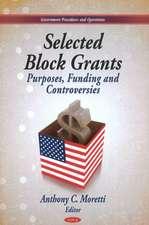 Selected Block Grants