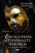 Encyclopedia of Personality Research