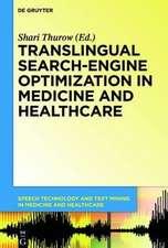 Translingual Search-Engine Optimization in Medicine and Healthcare