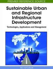 Sustainable Urban and Regional Infrastructure Development