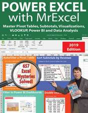 Power Excel 2019 with Mrexcel: Master Pivot Tables, Subtotals, Charts, Vlookup, If, Data Analysis in Excel 2010-2013