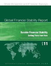 Global Financial Stability Report, April 2011