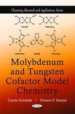 Molybdenum & Tungsten Cofactor Model Chemistry