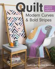 Quilt Modern Curves & Bold Stripes: 15 Dynamic Projects for All Skill Levels