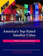 America's Top-Rated Smaller Cities, 2016/17:  Print Purchase Includes 2 Years Free Online Access