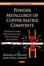 Powder Metallurgy of Copper Matrix Composite