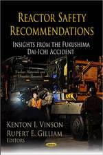 Reactor Safety Recommendations