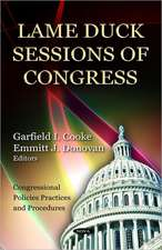 Lame Duck Sessions of Congress