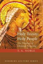 Holy Trinity:  The Theology of Christian Perfecting