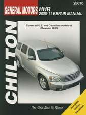 Chilton-Tcc GM Chevrolet Hhr 2006-2011 Repair Manual