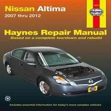 Nissan Altima 2007 Thru 2012:  2007 Thru 2012