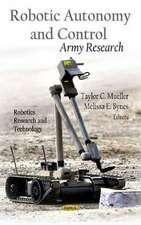 Robotic Autonomy and Control