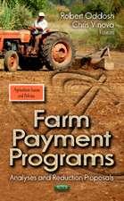 Farm Payment Programs