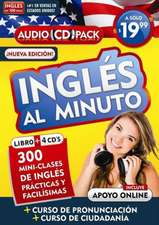 Inglés al minuto Audio Pack (Libro + 4 CDs). Nueva edición / English in a Minute (Book + 4 CDs). New edition