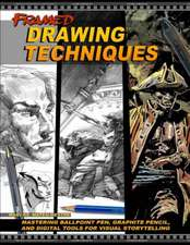 Framed Drawing Techniques: Mastering Ballpoint Pen, Graphite Pencil, and Digital Tools for Visual Storytelling