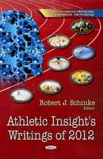 Athletic Insight's Writings of 2012