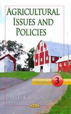Agricultural Issues & Policies