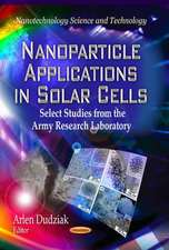 Nanoparticle Applications in Solar Cells