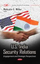 U.S.-India Security Relations