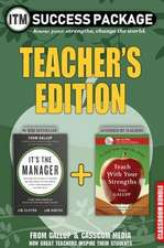 Gallup It's the Manager: Teacher's Edition Success Package