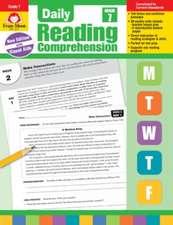 Daily Reading Comprehension, Grade 7