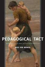 Pedagogical Tact:  Knowing What to Do When You Don T Know What to Do
