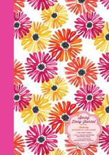 Spring Daisy Journal:  Featuring Artwork by Jane Dixon - 128 Lined Pages