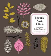 Nature Walk Notes - Artwork by Eloise Renouf:  Contains 250 Sheets