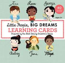 Little People, Big Dreams Learning Cards: 40 Fascinating Fact Cards