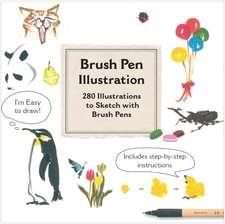 Brush Pen Illustration