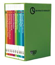 "HBR 20-Minute Manager Boxed Set (10 Books) (HBR 20-Minute Manager Series):  The Definitive Management Ideas of the Year from Harvard Business Review (with Bonus McKinsey Award-Winning Article ""P"